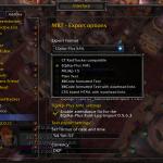 MRT v0.23-Beta – Export options (Dropdown menu open)